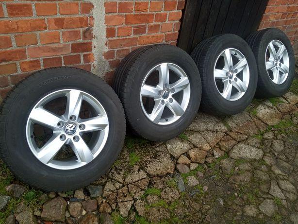 "Jak nowe koła 17"" 5x130 7P6 Touareg VW audi Q7 255/60/r17 Dunlop 7-5mm"