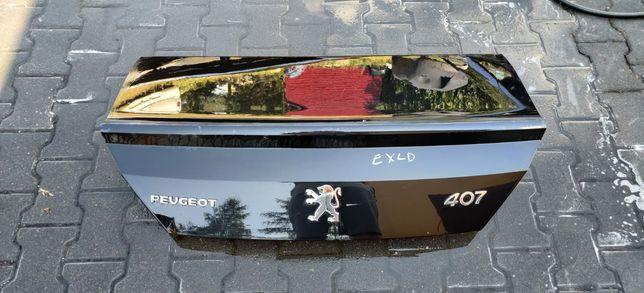 Peugeot 407 Klapa Pokrywa Bagażnika Oryginal Igła
