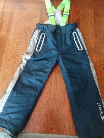 Spodnie zimowe w rozmiarze 104
