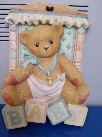 Картинка BABY в детскую комнату, объемный декор