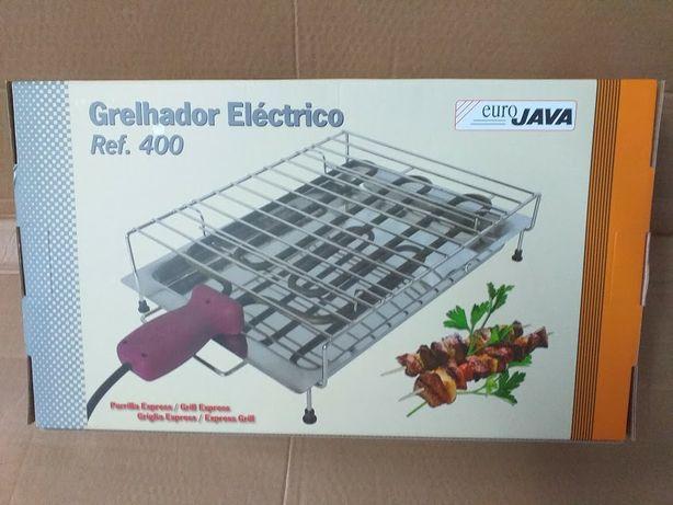 Grelhador elétrico novo 2000w com grelhas (tal e qual as fotografias)