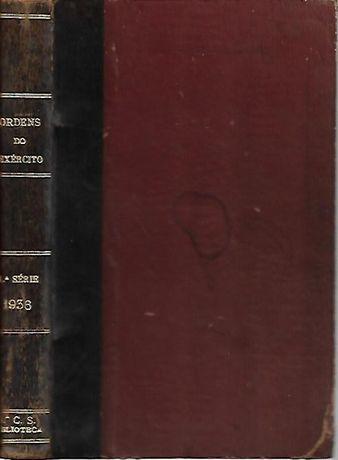 Ordens do Exército 1ª série – 1936_Imprensa Nacional