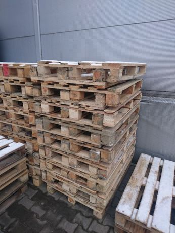 skup palet drewnianych używane przemysłowe 120x80, EURO oraz inne