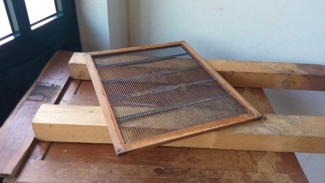 Grade excluidora para colmeias langstroth apicultura