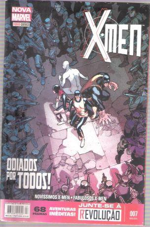 BD Nova Marvel Panini Comics X-Men nº7