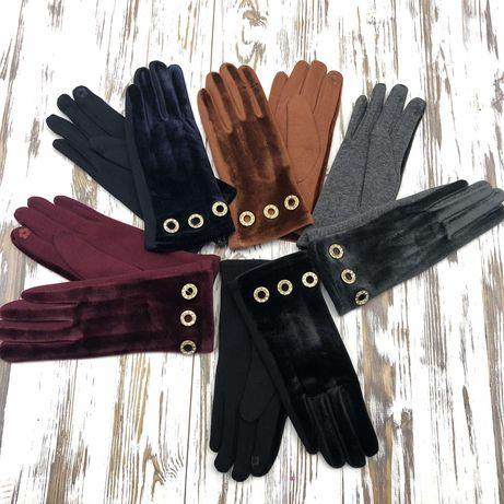 Перчатки женские,сенсорные,зимние