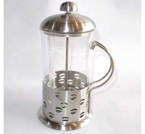 Френч-пресс заварник для чая кофе 1л жаропрочное стекло
