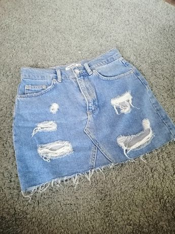 Spódnica jeansowa rozmiar S Pull & Bear