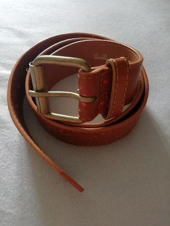 Pasek do spodni brązowy