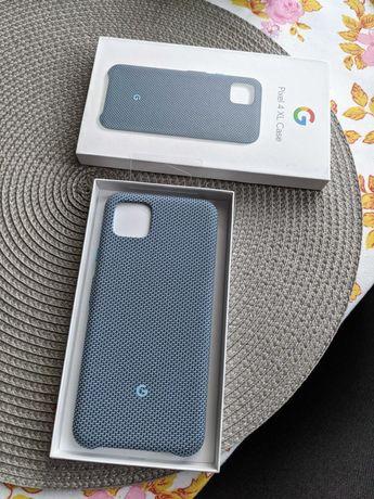 Pixel 4XL fabric case w kolorze niebieskim