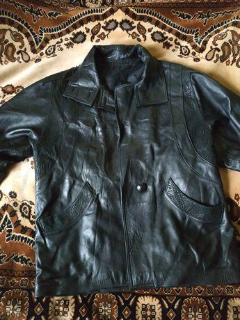 Куртка кожаная женская 52 - 54 размер