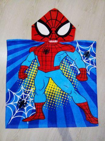 Полотенце на море человек паук (Спайдермен) Яркое! Новое!