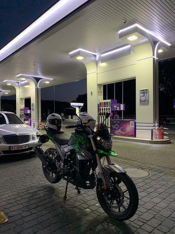 Отличный мотоцикл Senke sk250-6