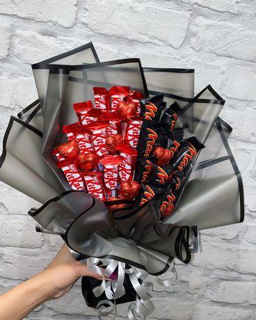 Букет из конфет, подарок, день учителя, день рождения