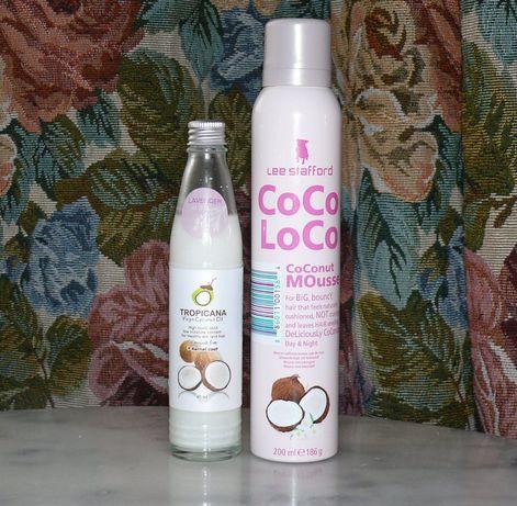 Лак, мусс, пенка для волос Coco Loco Кокос - кокосовое масло Tropicana