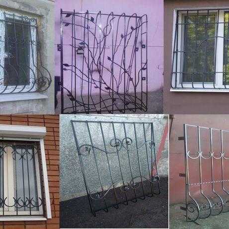 решетки на окна , балконы , лоджии