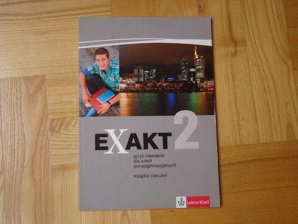 Książka ćwiczeń Exakt 2