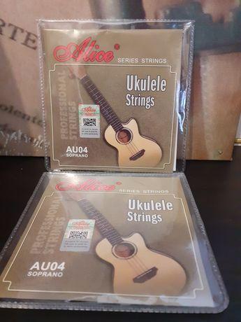 Conjunto 4 Cordas para Guitarra Ukelele novo