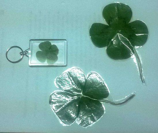 Amuleto Trevo quatro folhas