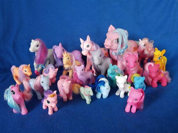 Zestaw kucyki koniki Chap Mei Simba i inne duży 23 sztuki Pony