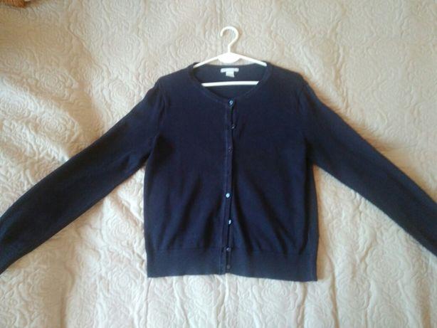 Sweterek sweter granatowy HM rozmiar M