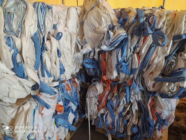 Hurtownia Big Bag używane worki 97x97x190cm/ szybka wysyłka
