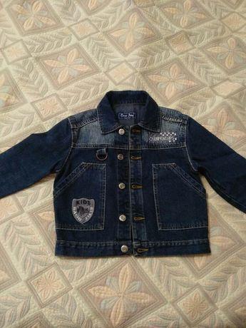 Продается детский джинсовый пиджак