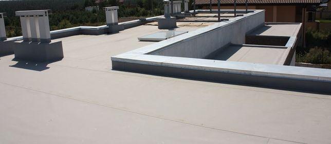Ремонт плоского даху, ремонт козерків балконів, ремонт балконів.