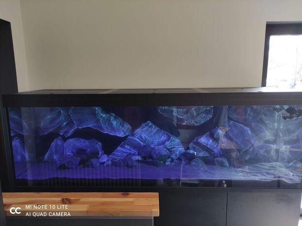 Tło strukturalne 3d do akwarium, imitacja skały,moduły,zabudowa filtra
