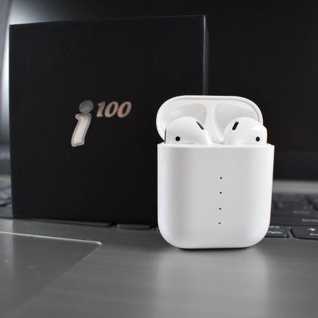 AirPods TWS i100 Наушники Беспроводные Сенсорные Apple Iphone