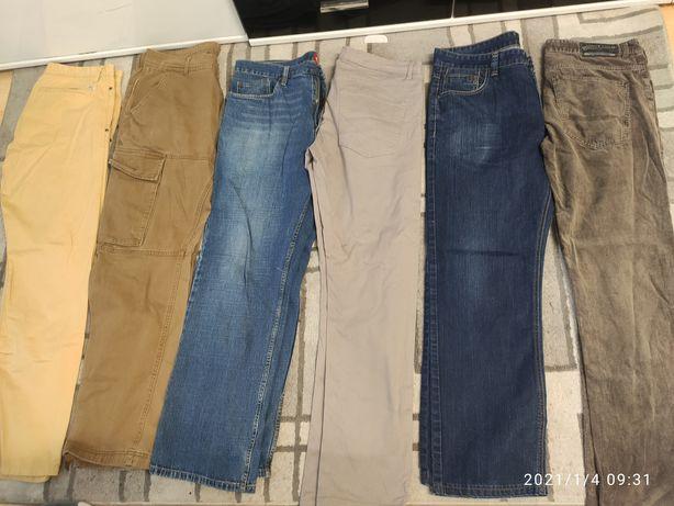 Zestaw męskich ubrań Reserved, Hause, C&A