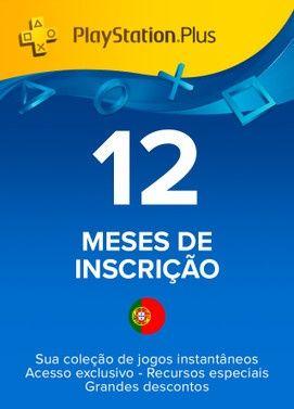 PlayStation Plus - Subscrição 365 dias (Portugal)