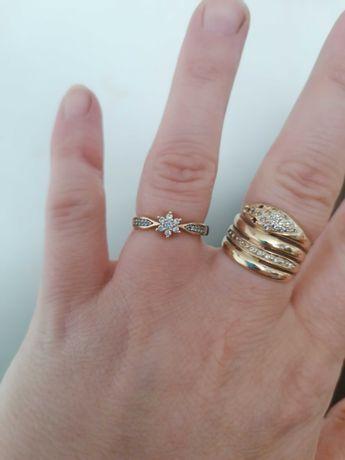 Sliczny złoty pierścionek sprzedam bądź zamienie