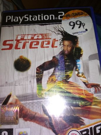 Gra na ps 2 , FIFA street , PlayStation 2