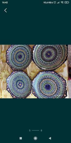 Узбекский лаган для подарок ручной работы