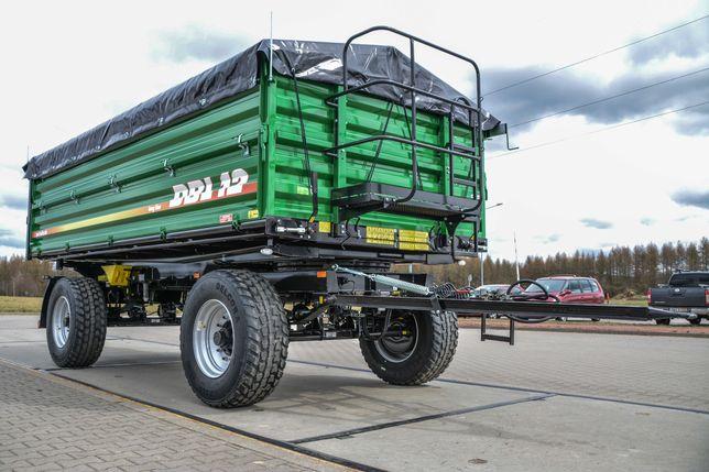 Przyczepa rolnicza wywrotka METAL-TECH DBL 12 10 8 Ton LONG   Wielton