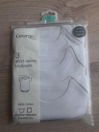BODY Nowe 3szt George baby