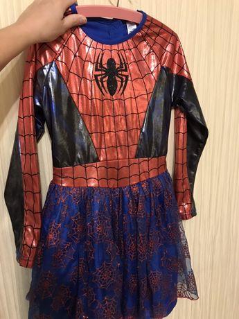 Платье  маскарадное  spiderwoman George
