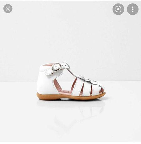 Jacadi сандали босоножки для девочки белые 21 размер