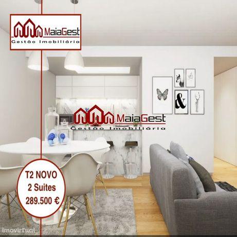T2 | Novo | 2 Suites | Lugar de Garagem | Maiagest
