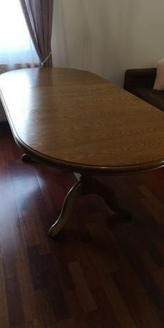 Stół dębowy 192x86 (rozkładany)