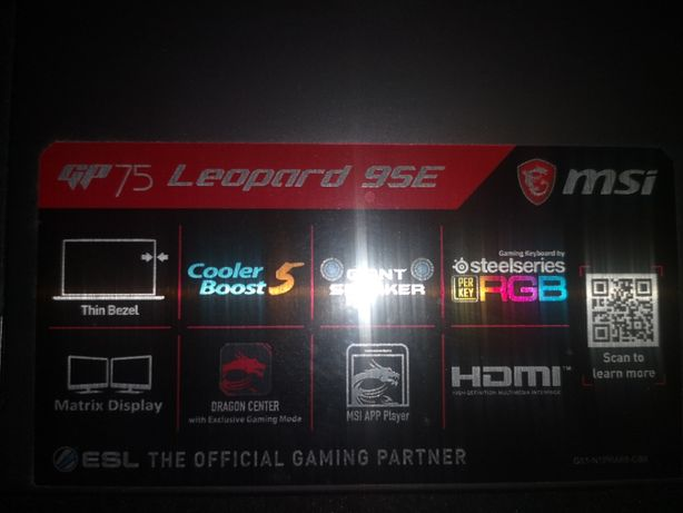 msi laptop za  ps5 lub pc