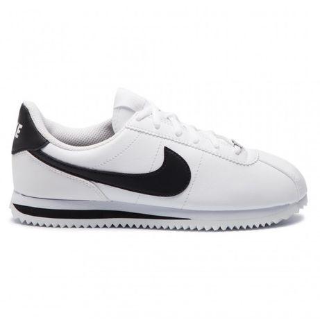 Nike Cortez/ Rozmiar 43 Białe - Czarne *WYPRZEDAŻ*