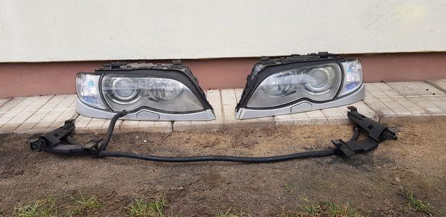 Lampy przód e46 Sedan Polift Xenon spryski Europa