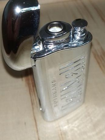 Metalowa zapalniczka 10 szuk PallMall Rothmans ,żarowa.