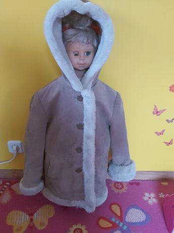 Kozuszek kozuch Wilsons Leather Kids dla dziewczynki 122/128/134