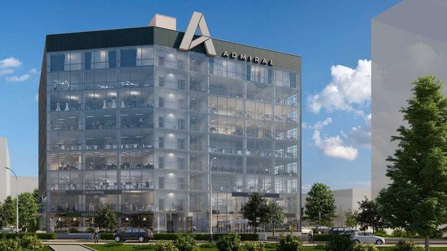 Продажа офисов в БЦ «Admiral» на ул.Вишняковская 2а, 65 m2 – 182 m2