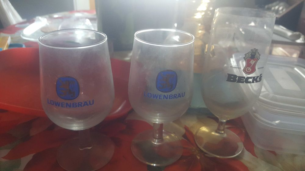 Comjunto 3 copos Misericórdia - imagem 1