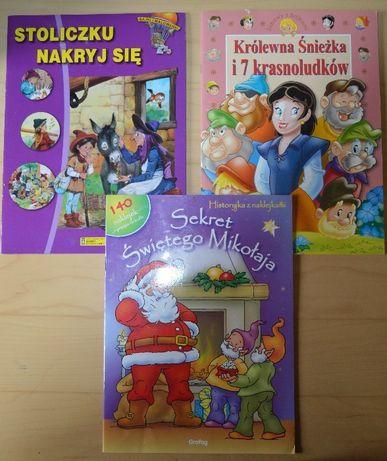 Zestaw 3 książeczek dla dzieciaczka Okazja