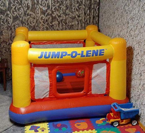 Детский надувной игровой центр-батут Intex 48260 , 174*174*112см